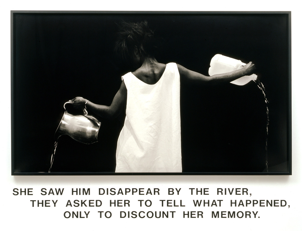 Waterbearer. Lorna Simpson, 1986.