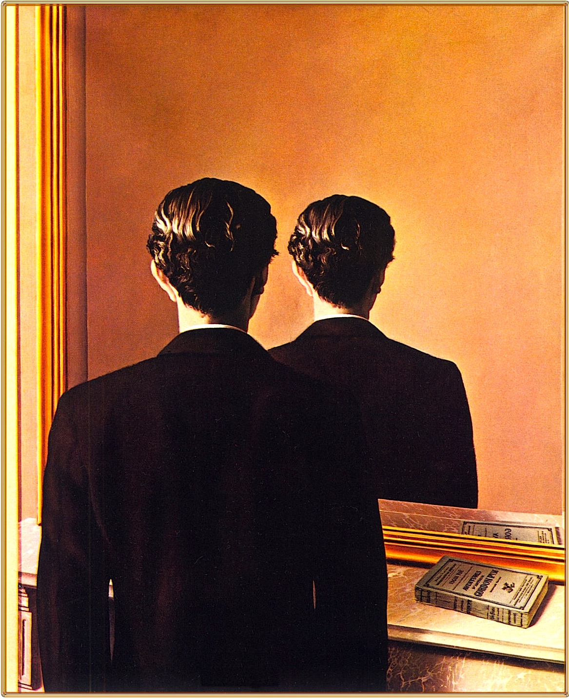 """""""Not to be reproduced"""". Reneé Magritte, 1937."""