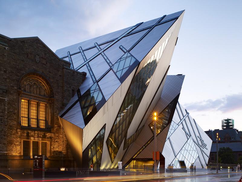 Royal Ontario Museum. Toronto, Canadá.