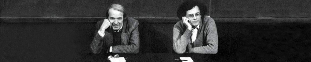 Deleuze and Guattari (Right side)