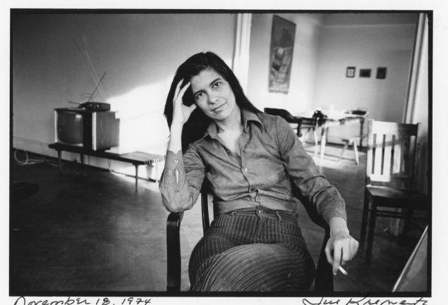 Susan Sontag. Fotopor Jill Krementz. 18 de Novembro, 1974.