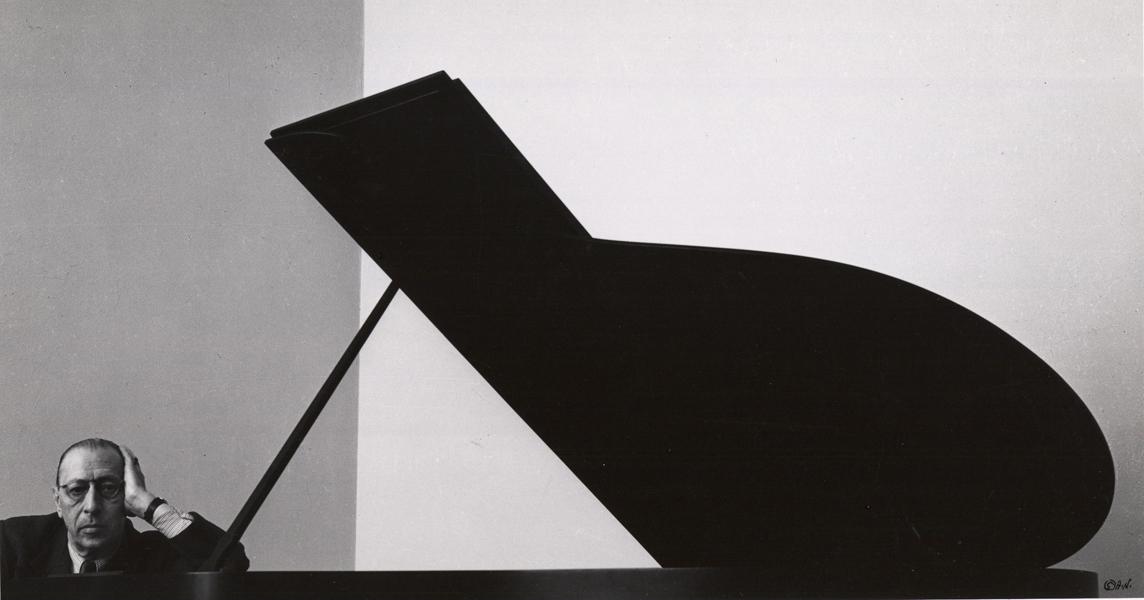 Igor Stravinsky. Foto por Richard Newman. 1946, Nova York.