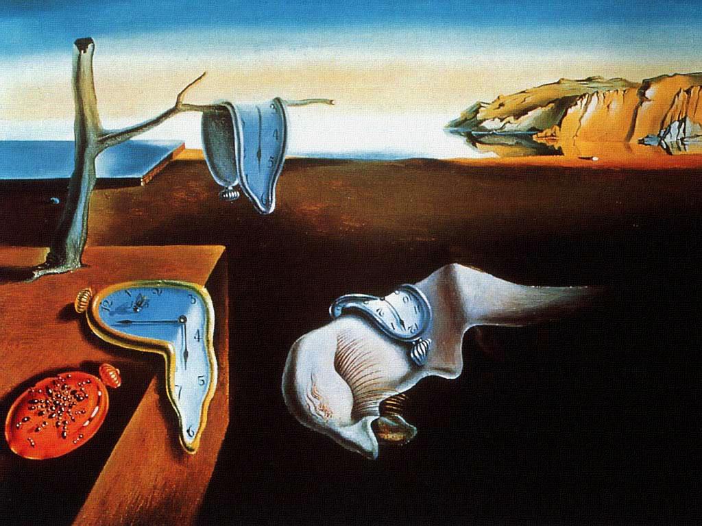 The persistence of memory. Salvador Dali.