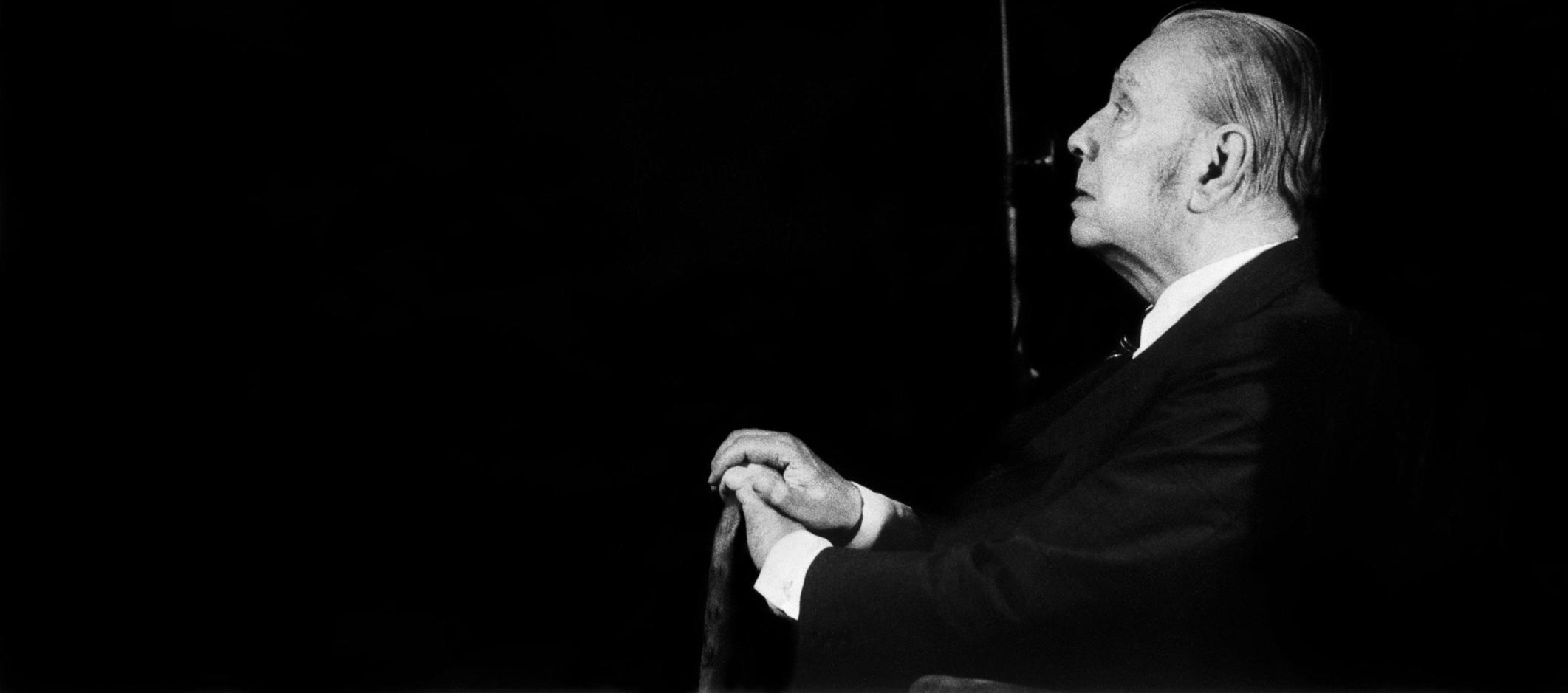 Borges in New York.