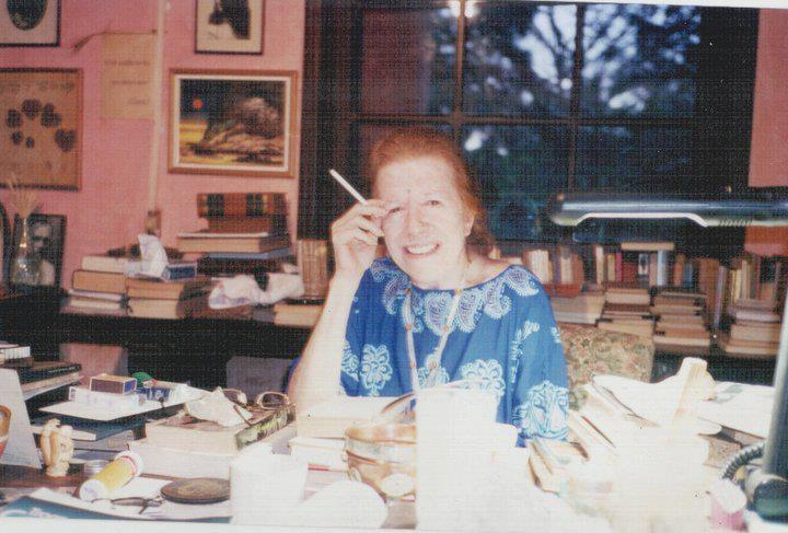 Hilda Hilst na Casa Sol.