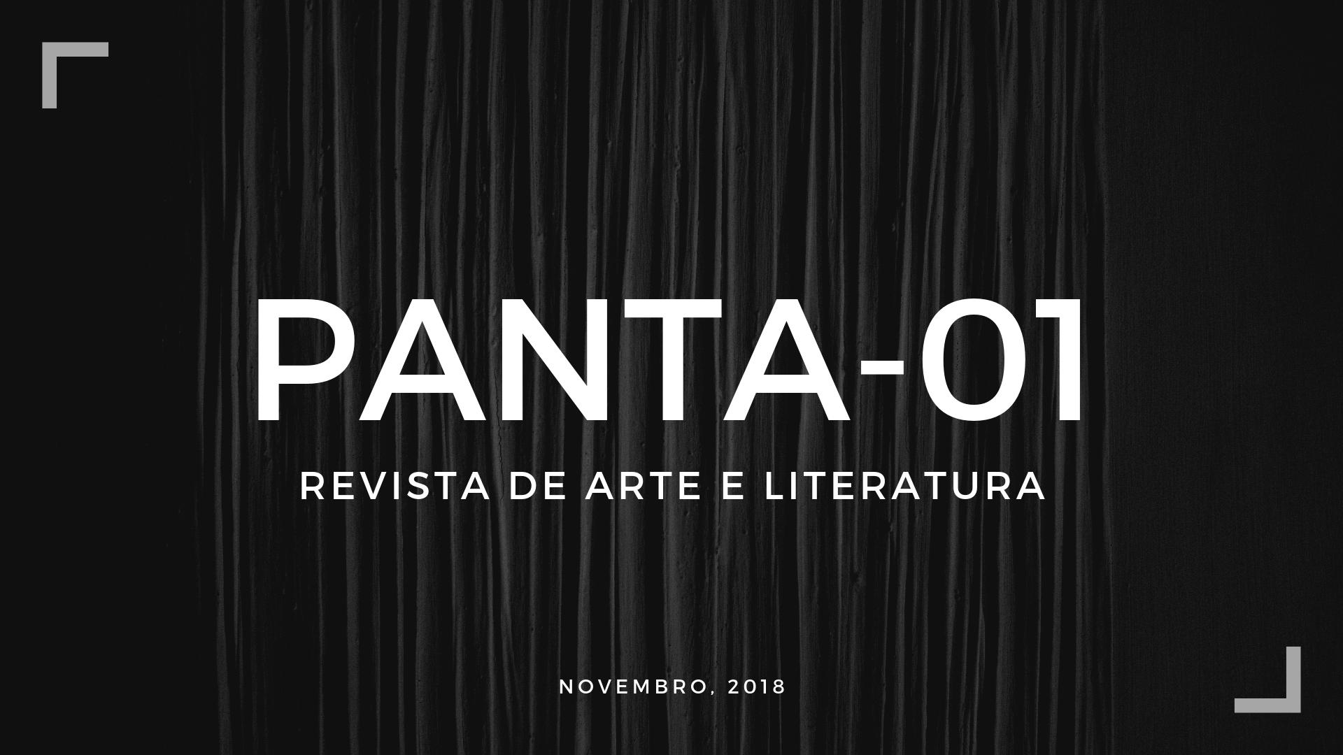 Panta-01: Revista de arte e literatura.