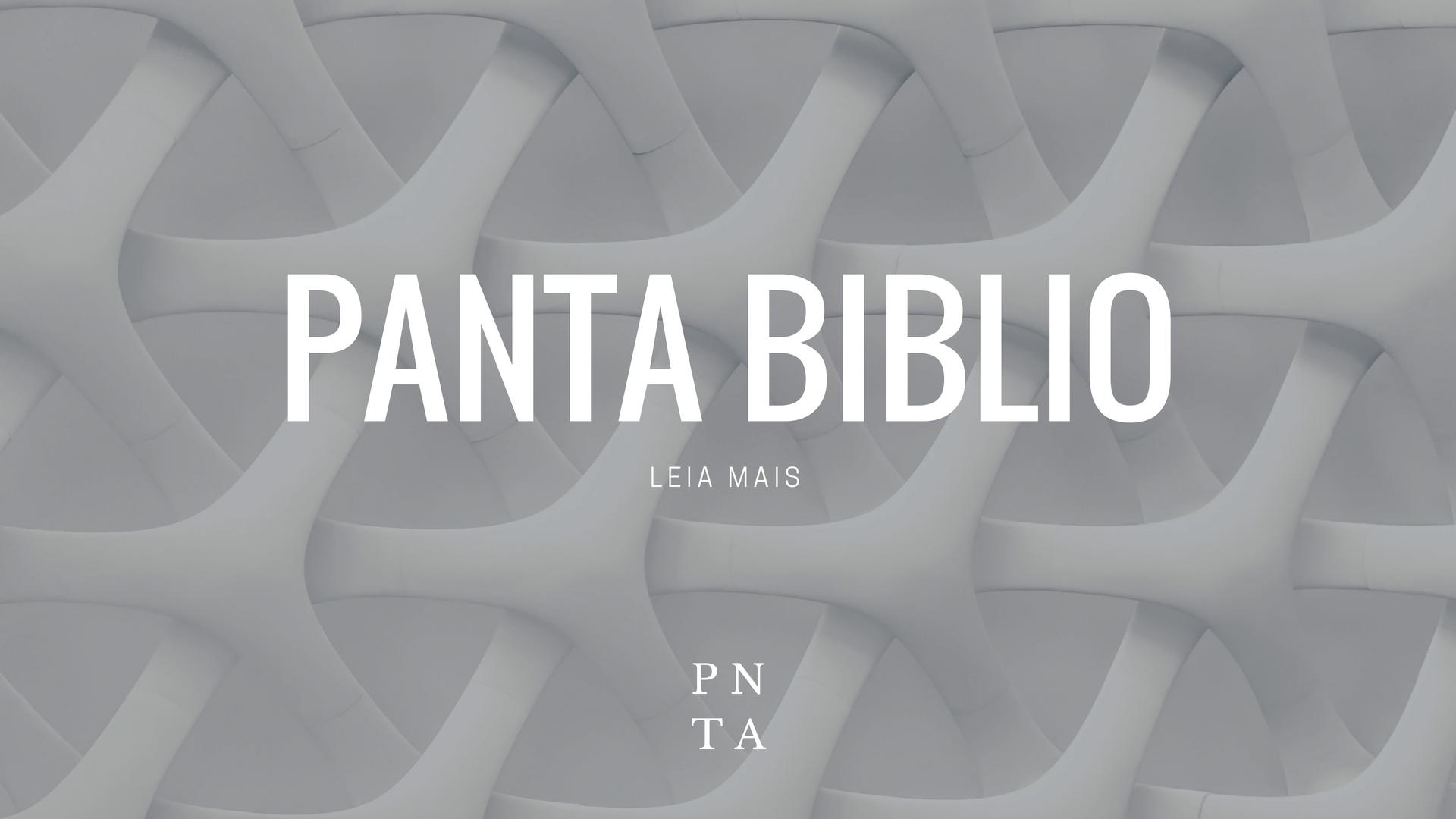 Pantabiblio - A biblioteca do Pantagruelista