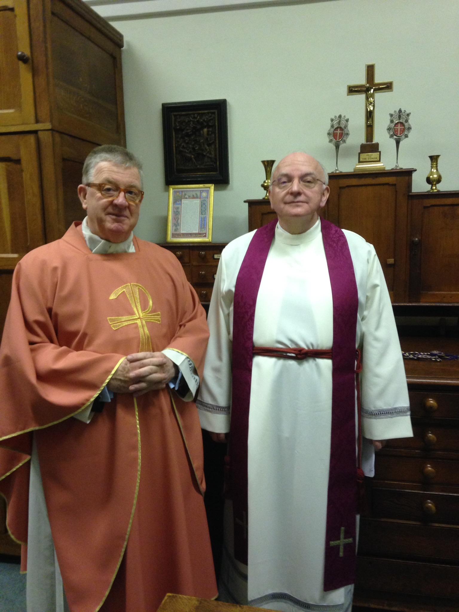 Mgr Phelim and James hanvey