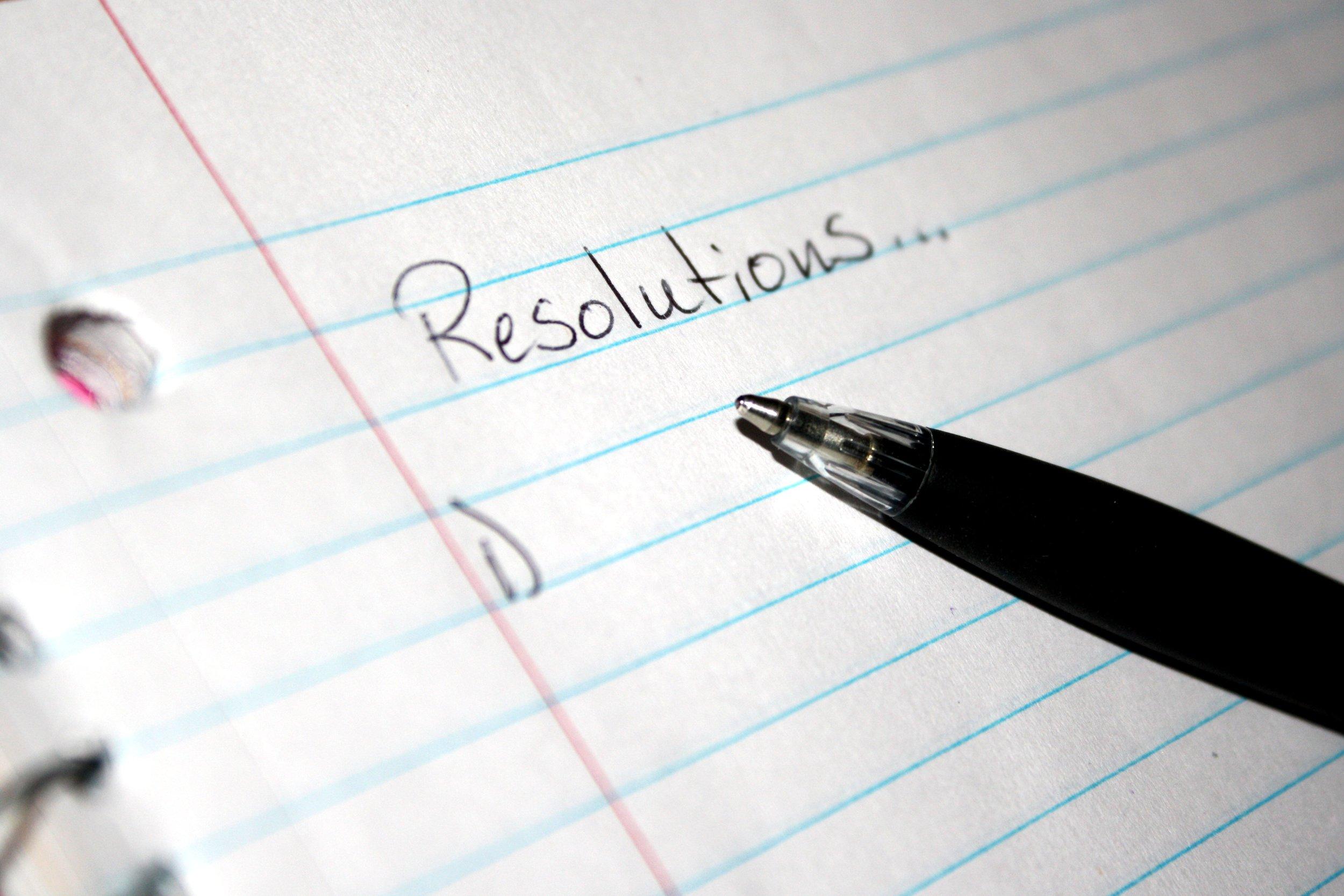 New Years Resolution, SKYN Magazine