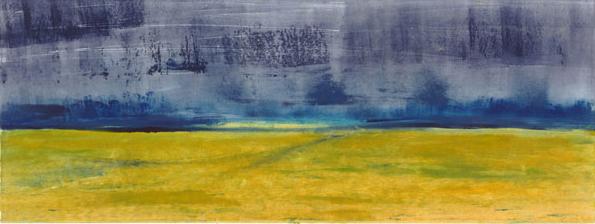 """Coming Storm"" monoprint, 1990"
