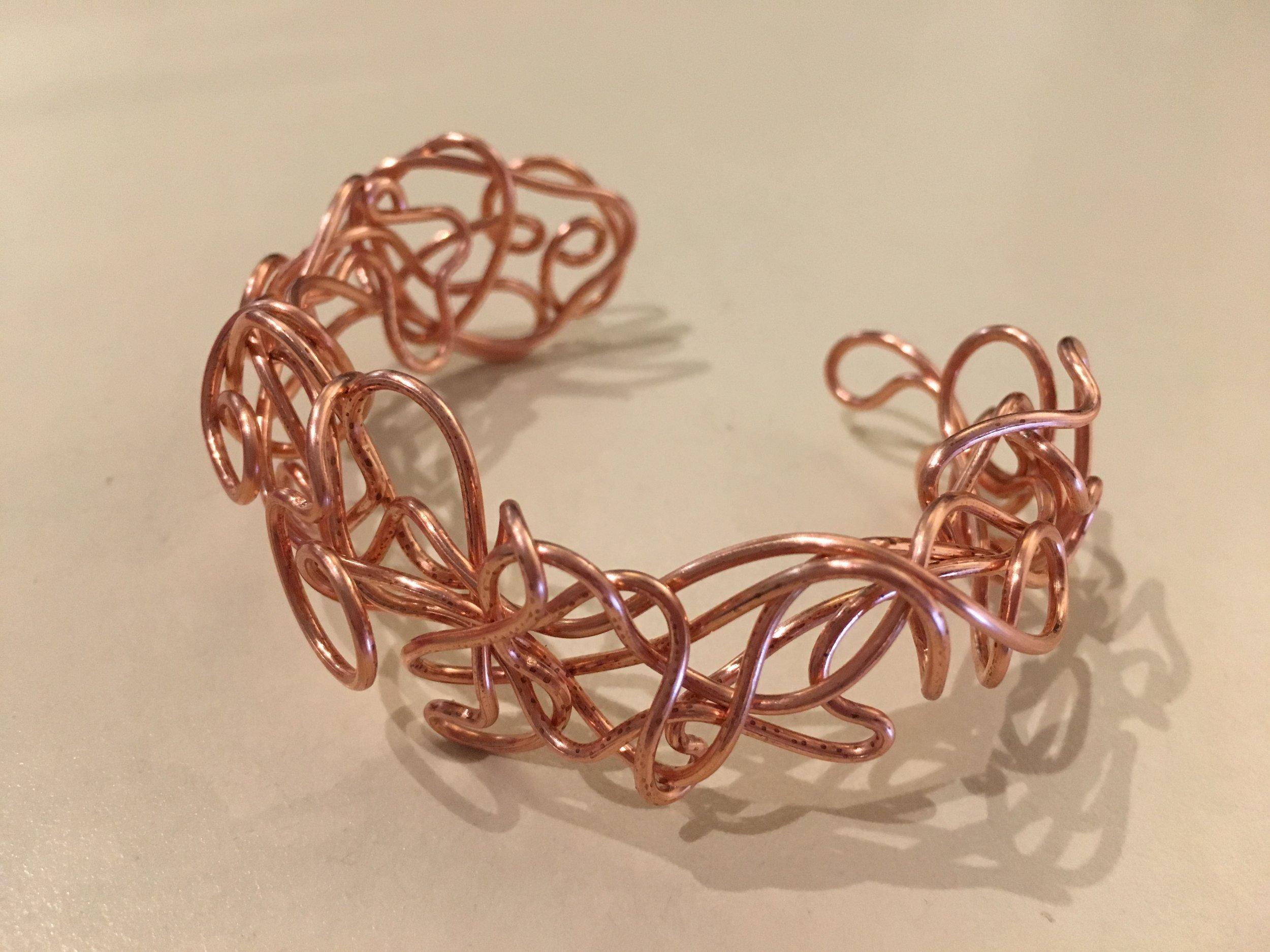 Copper Arthritis Bracelet  Detailed description TBA