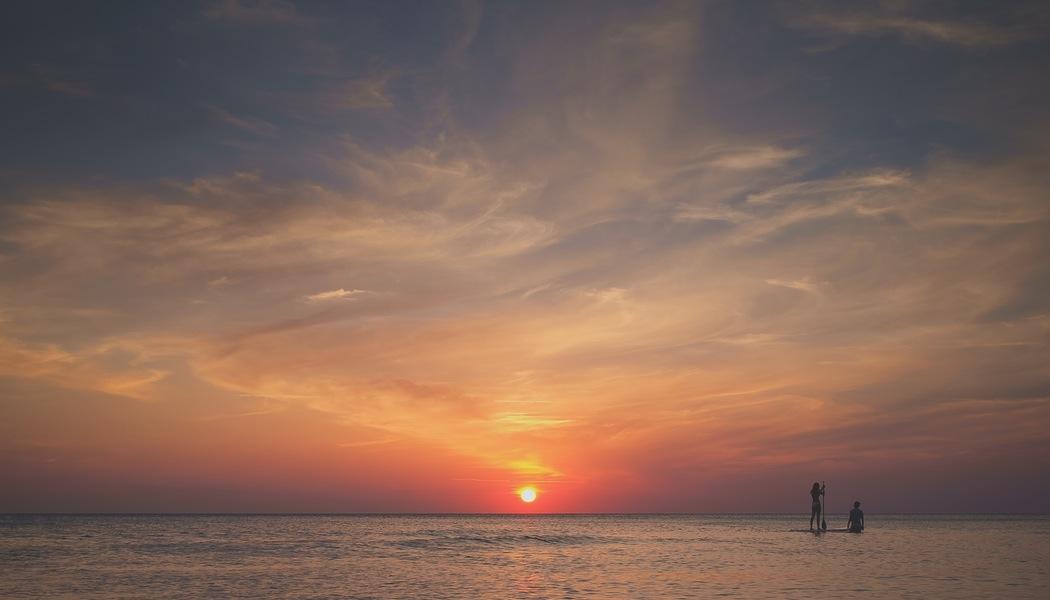 Sunset on the beach.jpeg