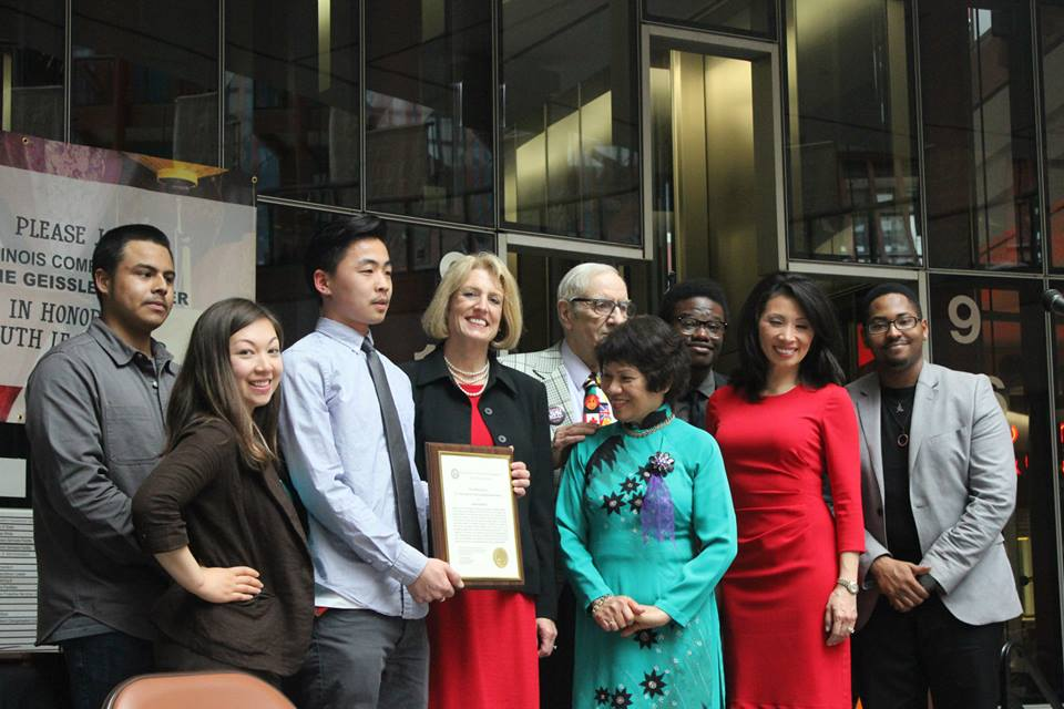 Elephant Rebellion honored with 2nd annual John Vietnam Nguyen Asian American Youth Leadership Award.