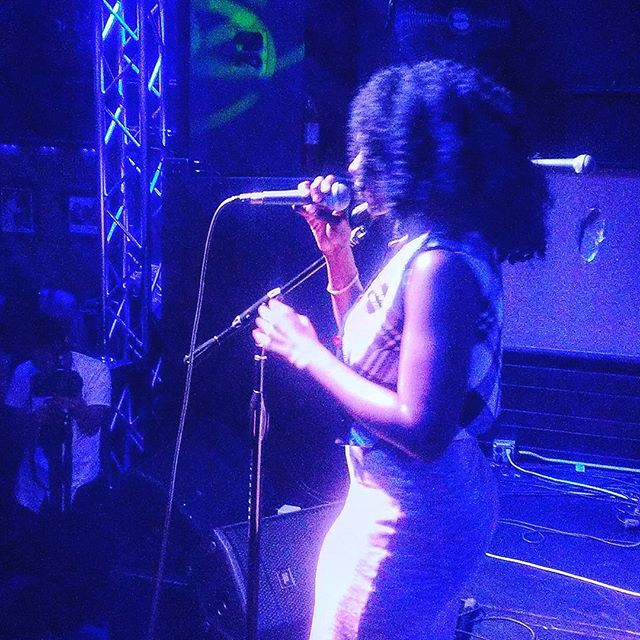 Nola killin it at Nappi Hour Soul sessions  #nappihour #afrotrak