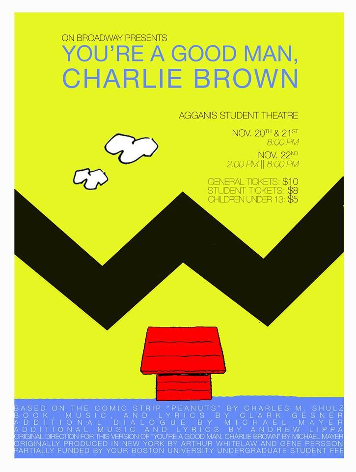 """You're A Good Man, Charlie Brown""  Fall 2014"