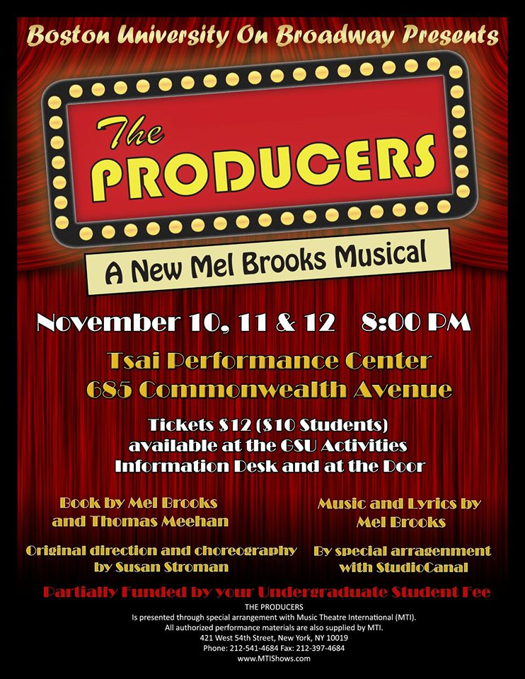 """The Producers""  Fall 2011"