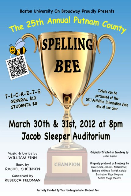 """The 25th Annual Putnam County Spelling Bee""  Spring 2012"