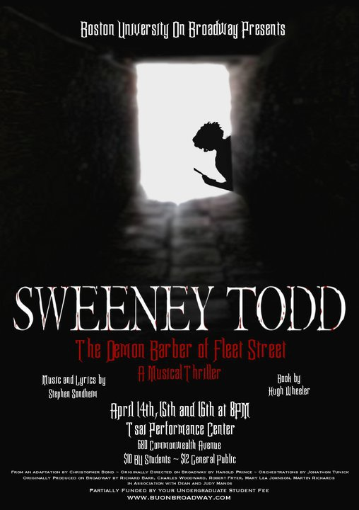 """Sweeney Todd""  Spring 2011"