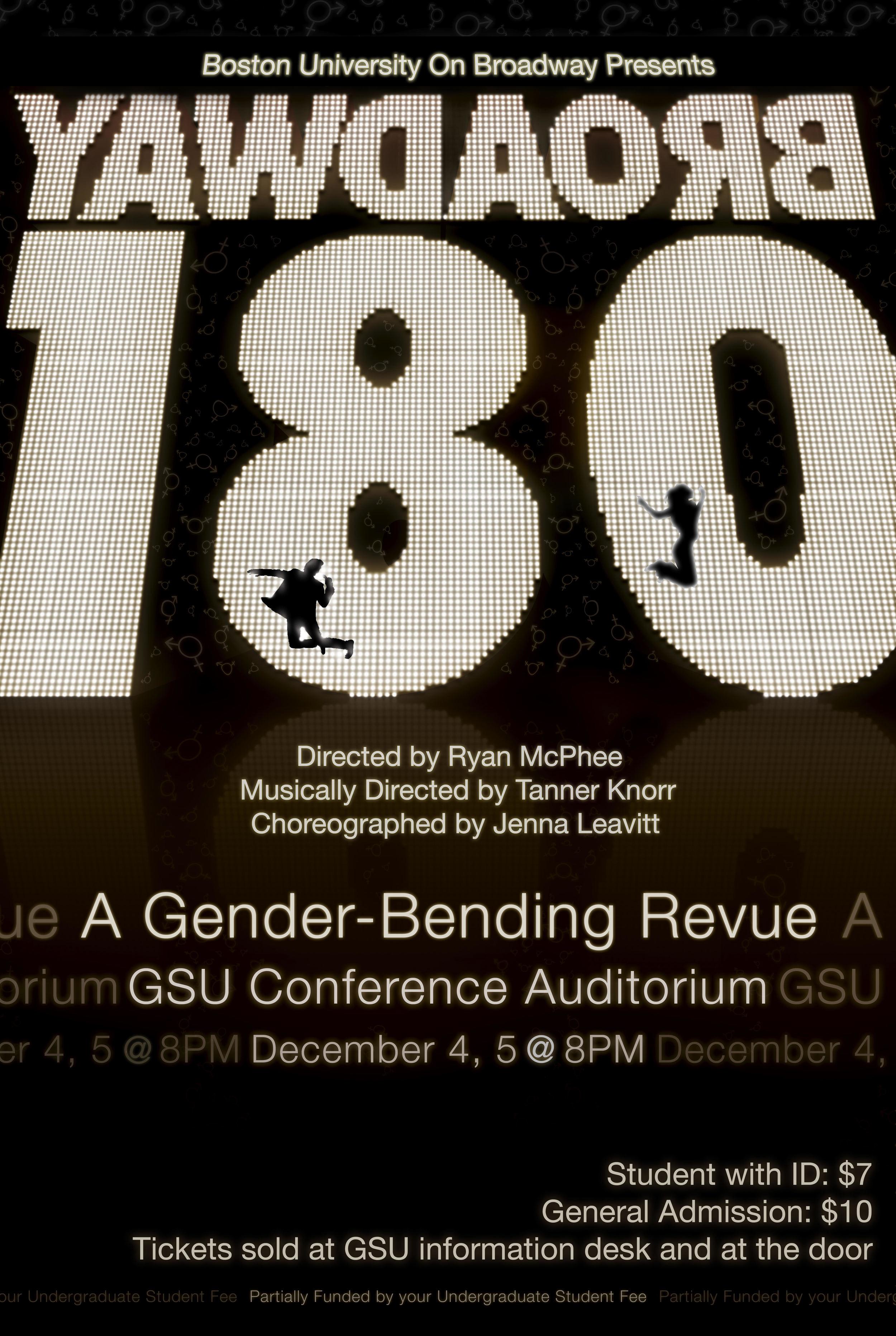 Broadway 180: A Gender-Bending Revue (Fall 2009)
