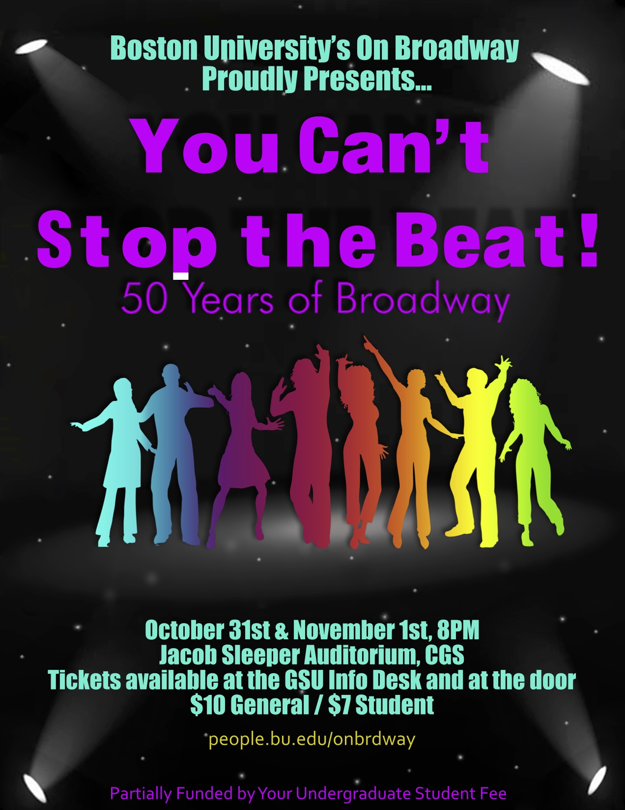 """You Can't Stop the Beat: 50 Years of Broadway""  Fall 2008"