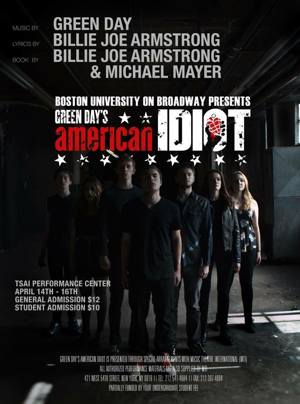 """American Idiot"" Spring 2016"