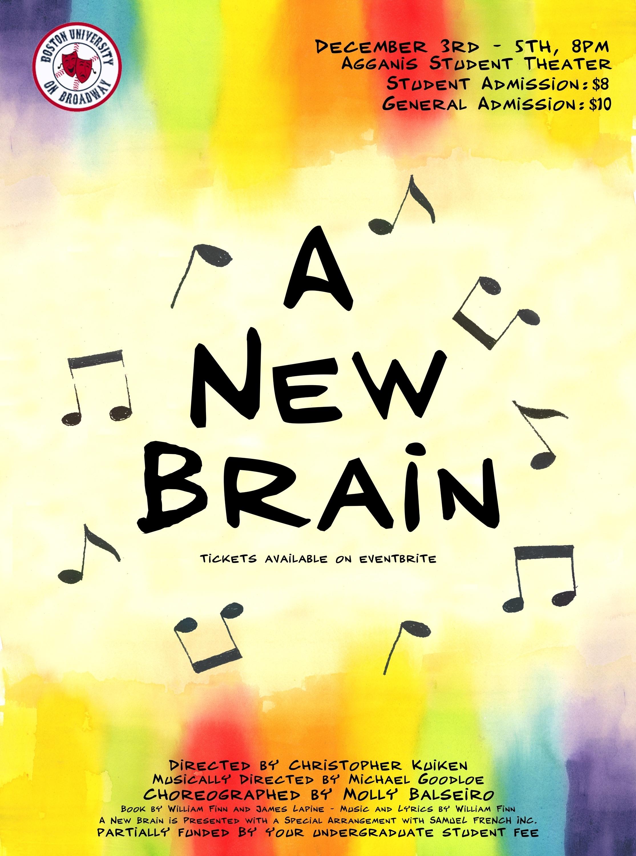 """A New Brain"" Fall 2015"