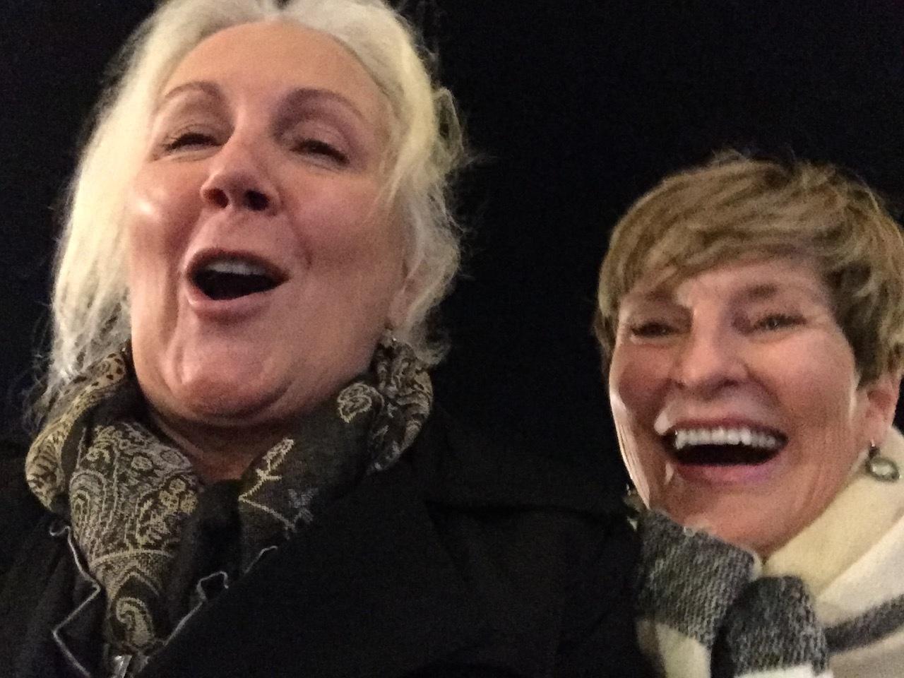 lelan and me laughing.JPG