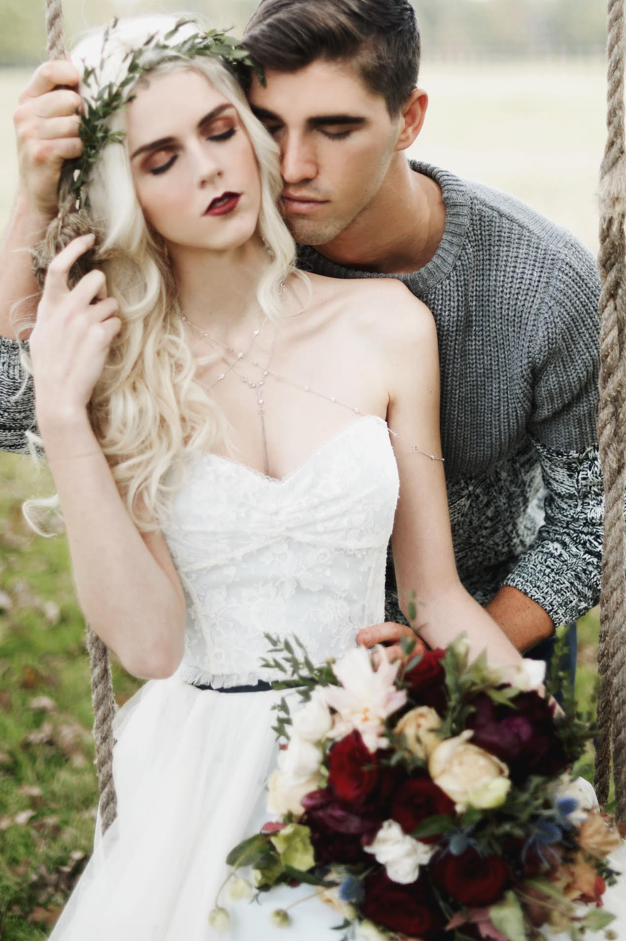 Photo |  A Sea of Love  from  Our Paul Bunyon Inspired Styled Shoot