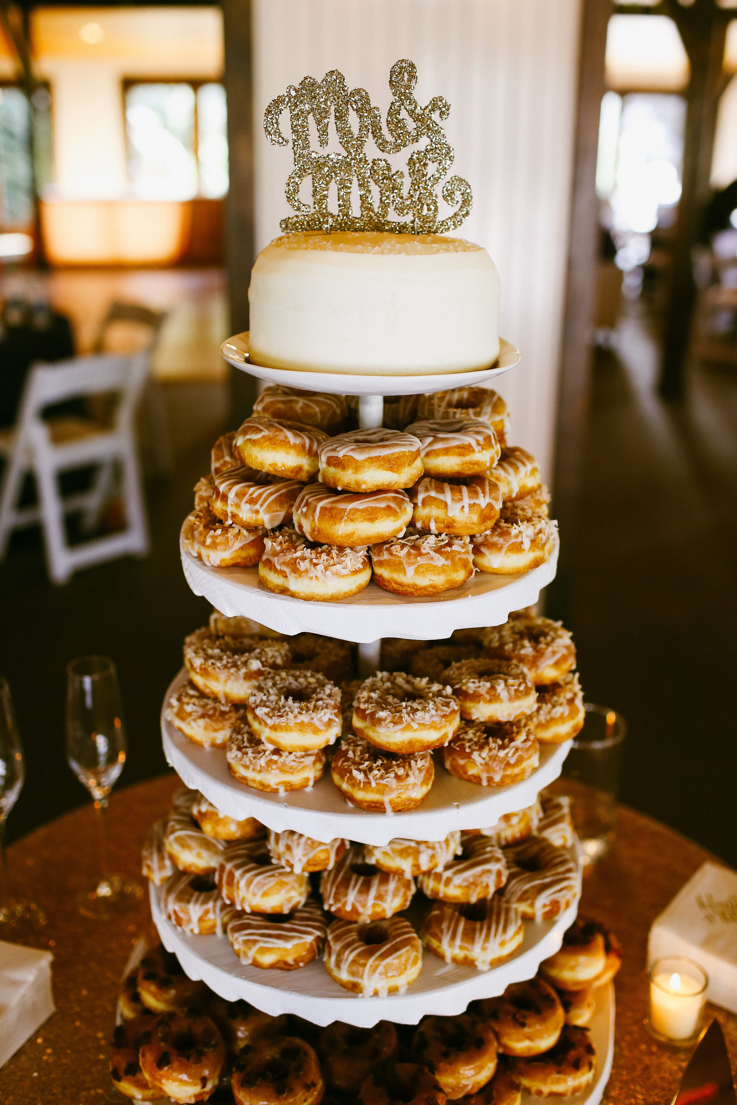 DONUT TOWER |  ENGAGING EVENTS