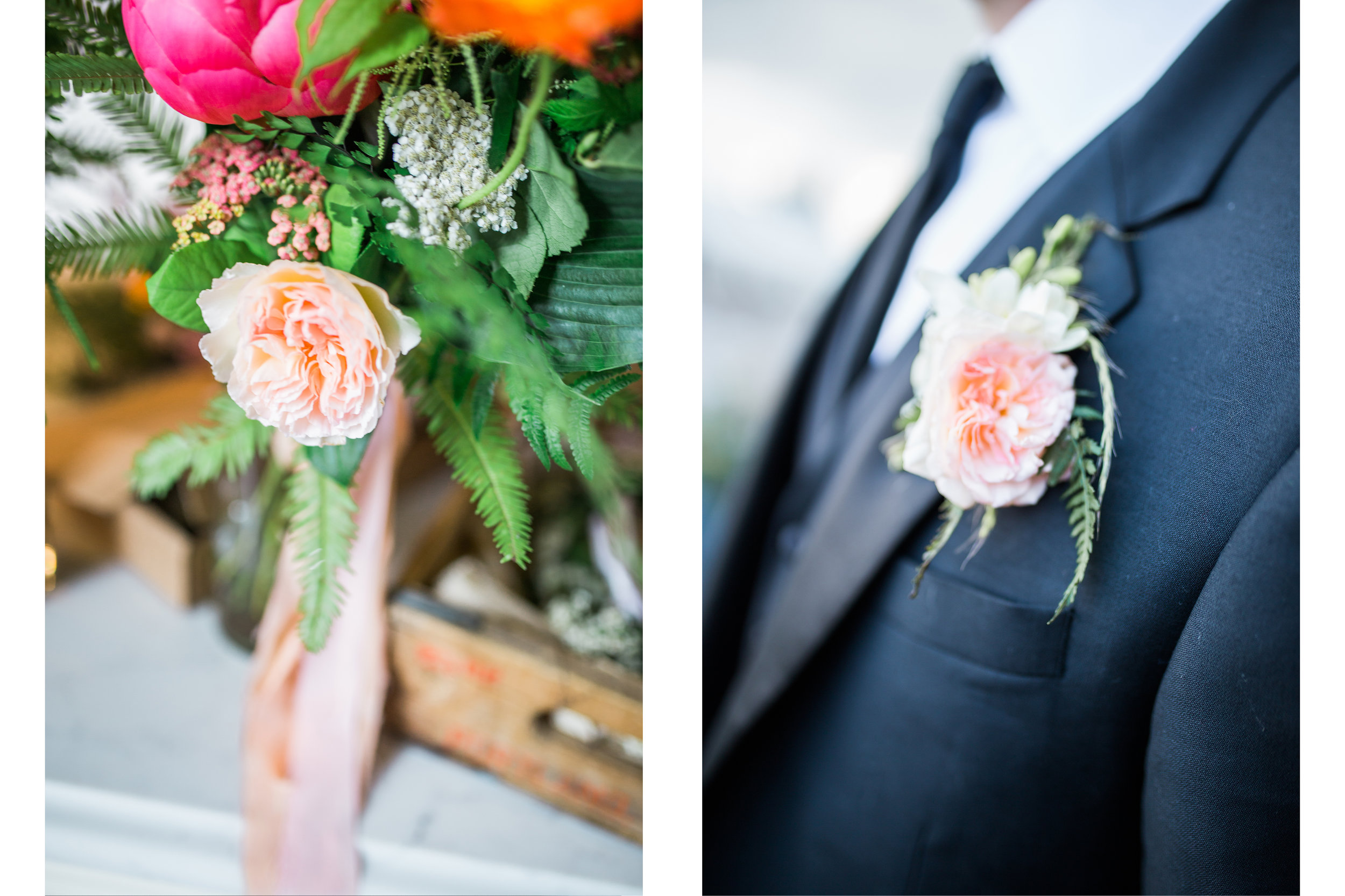 Bouquets and boutonnieres by    Emerald Petals