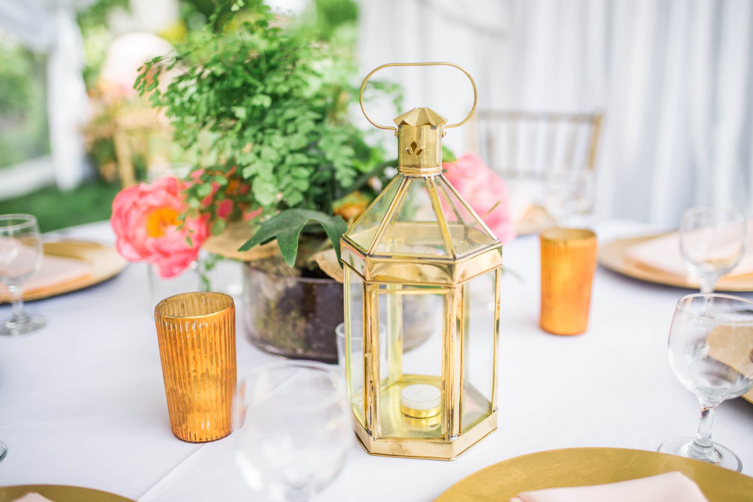 lantern wedding center piece inspiration