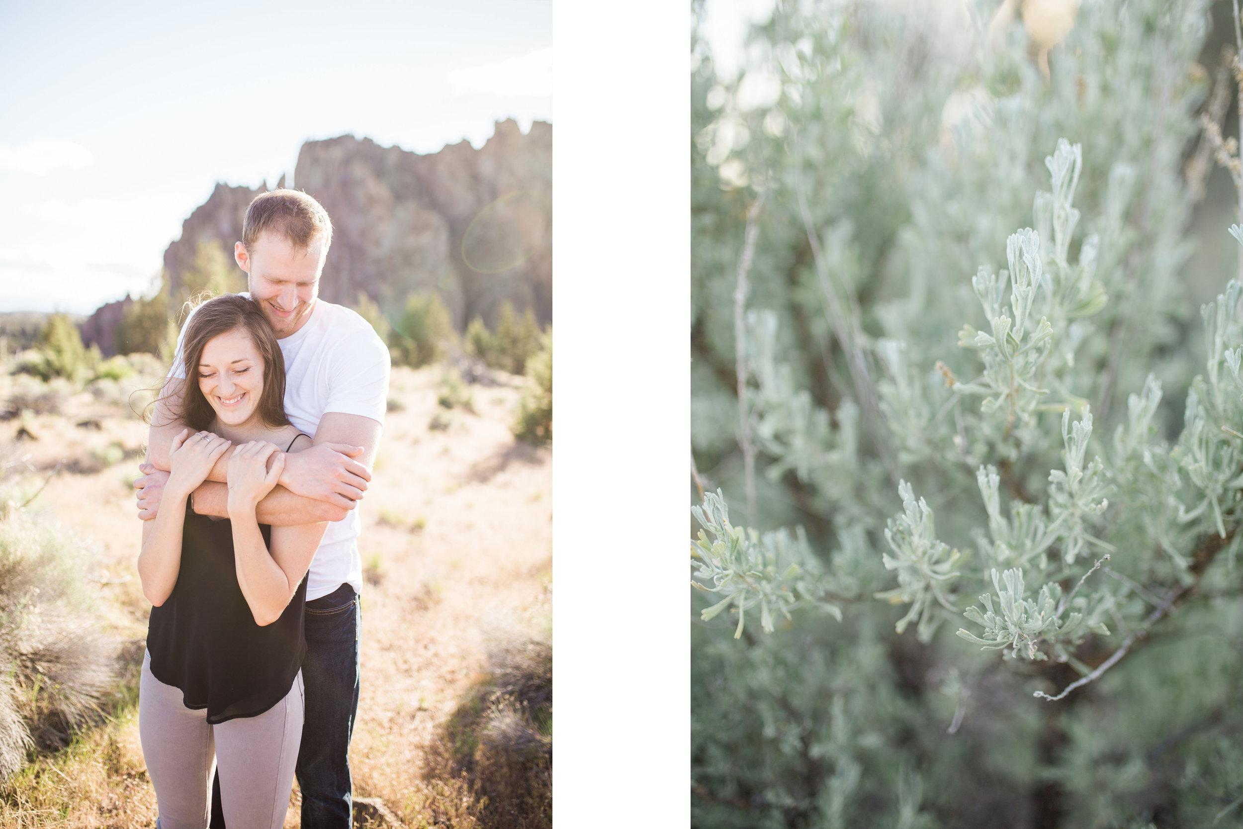 Smith Rock Oregon engagement session photographer