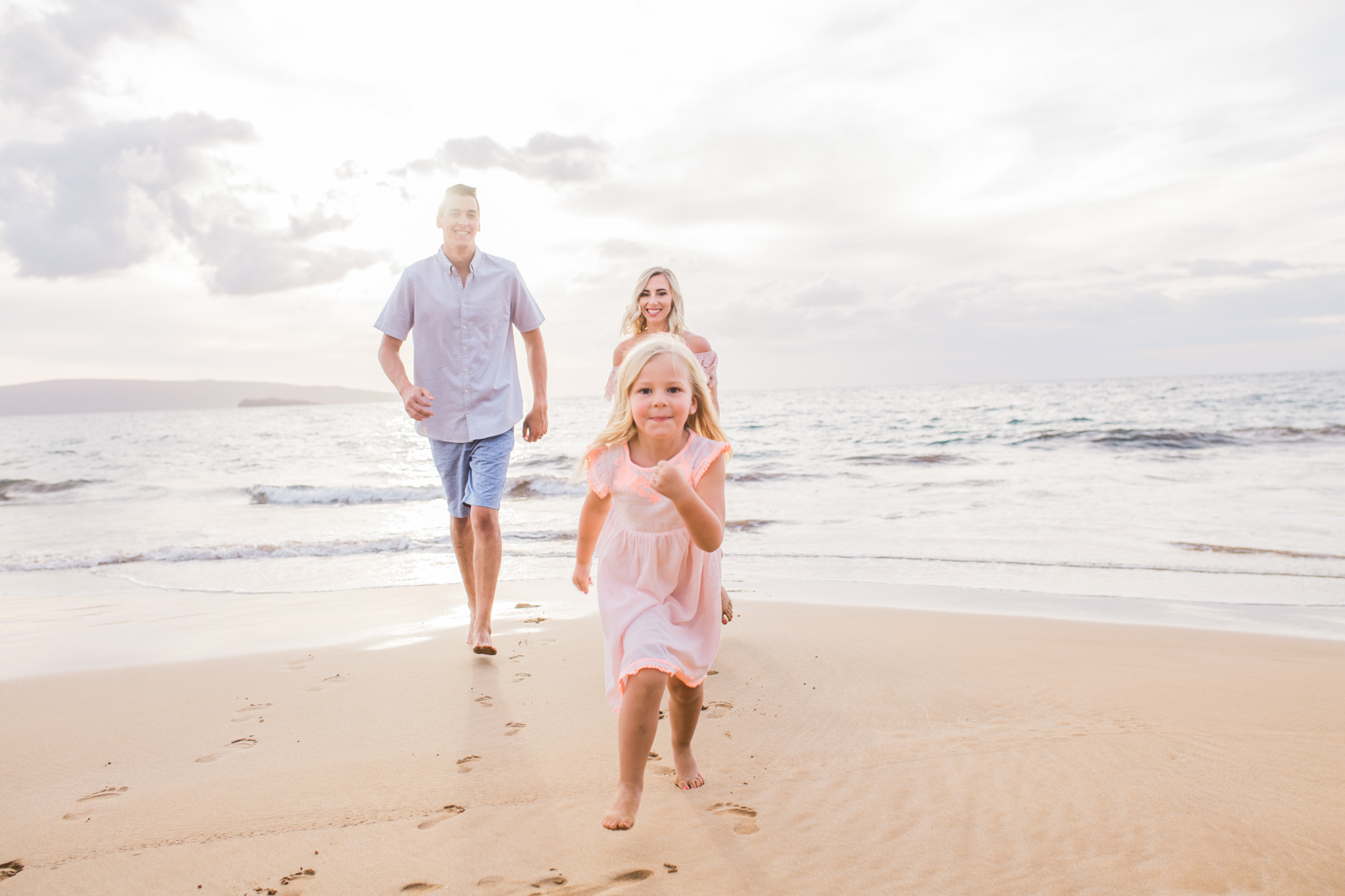 This family session in Maui, Hawaii