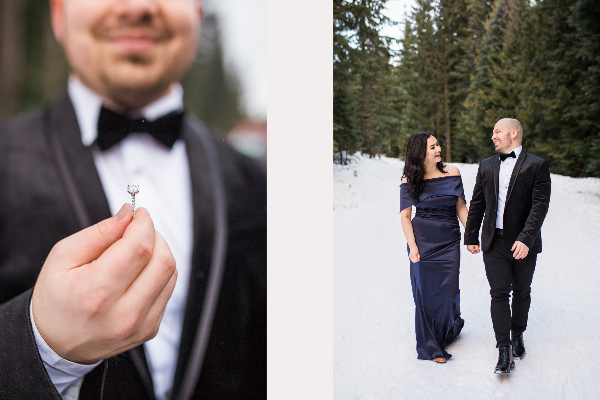 Romantic Trillium Lake Mt Hood, Oregon Engagement Session.jpg