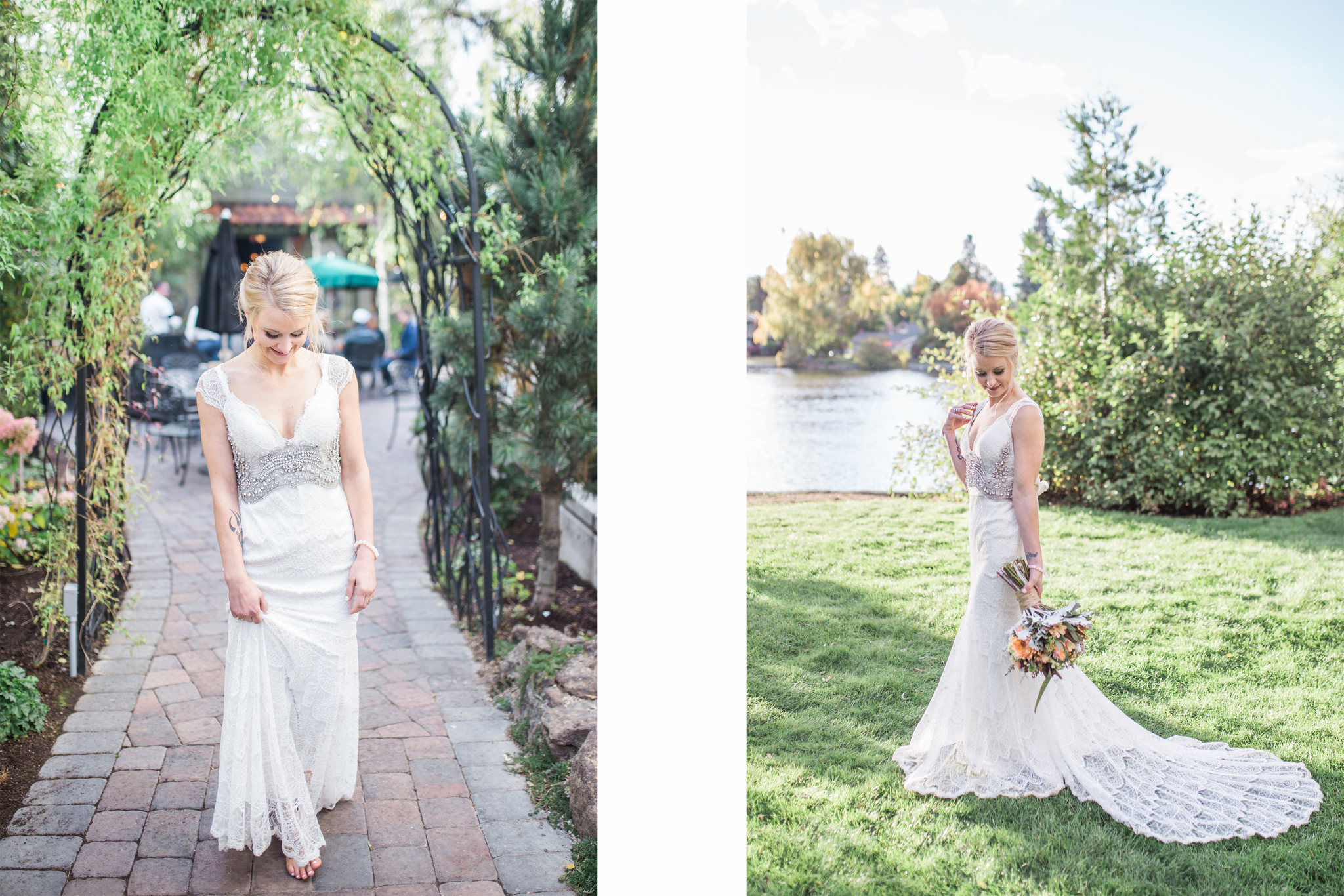 See more of this stunning bride and her dress here !