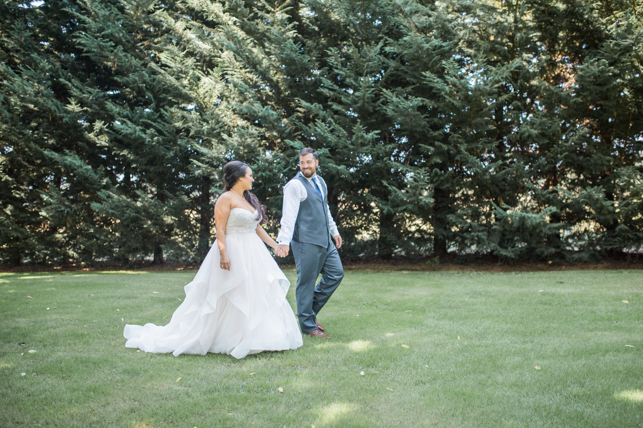 Such a beautiful wedding at  Yellow Gold Farm  in Eugene, Oregon!