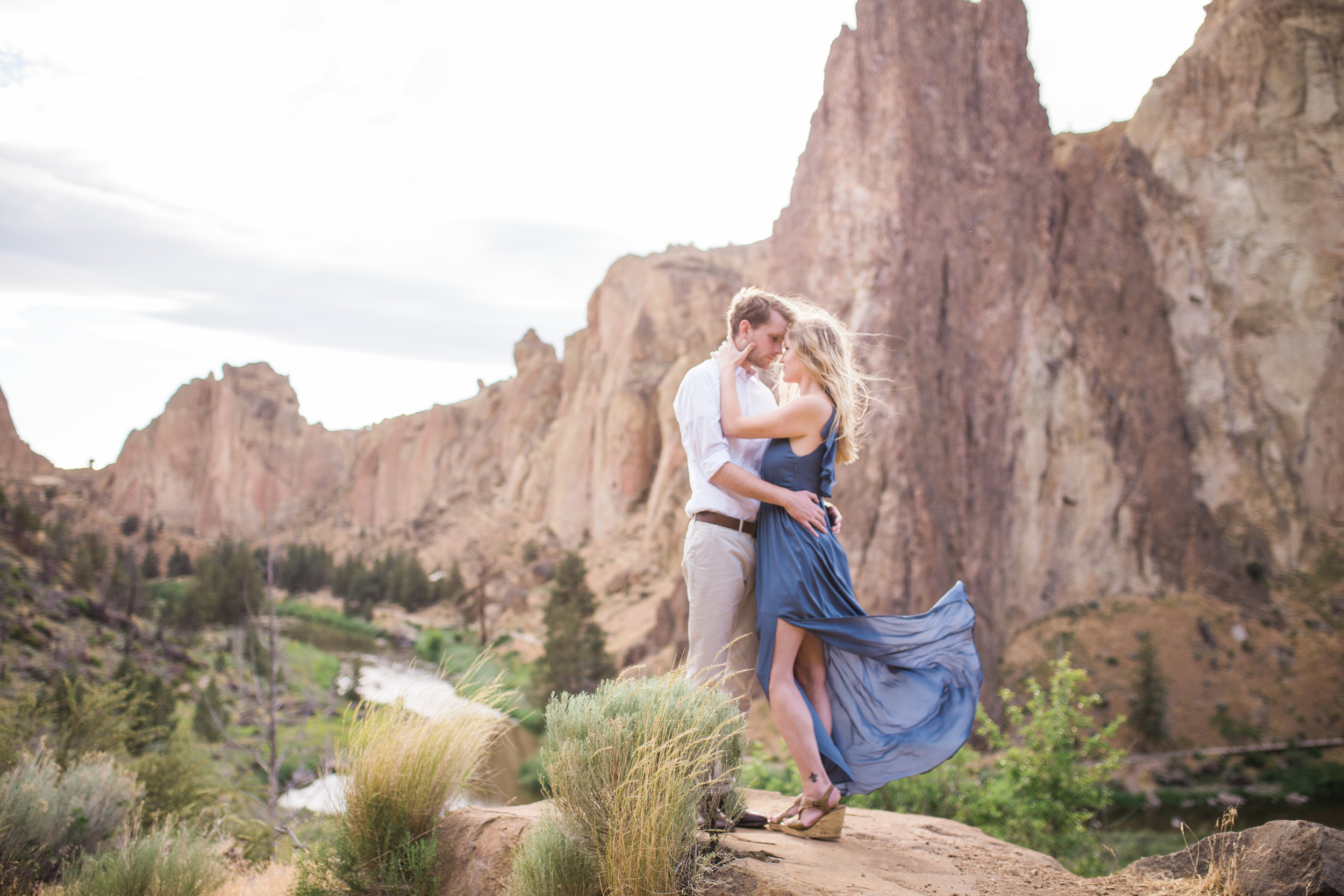 All engagement sessions include travel to most locations including  Smith Rock