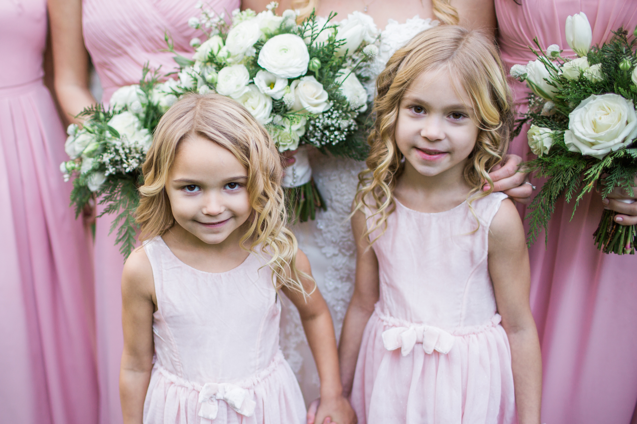 Ridgefield, WA wedding photographer, summit grove lodge weddings, flower girls
