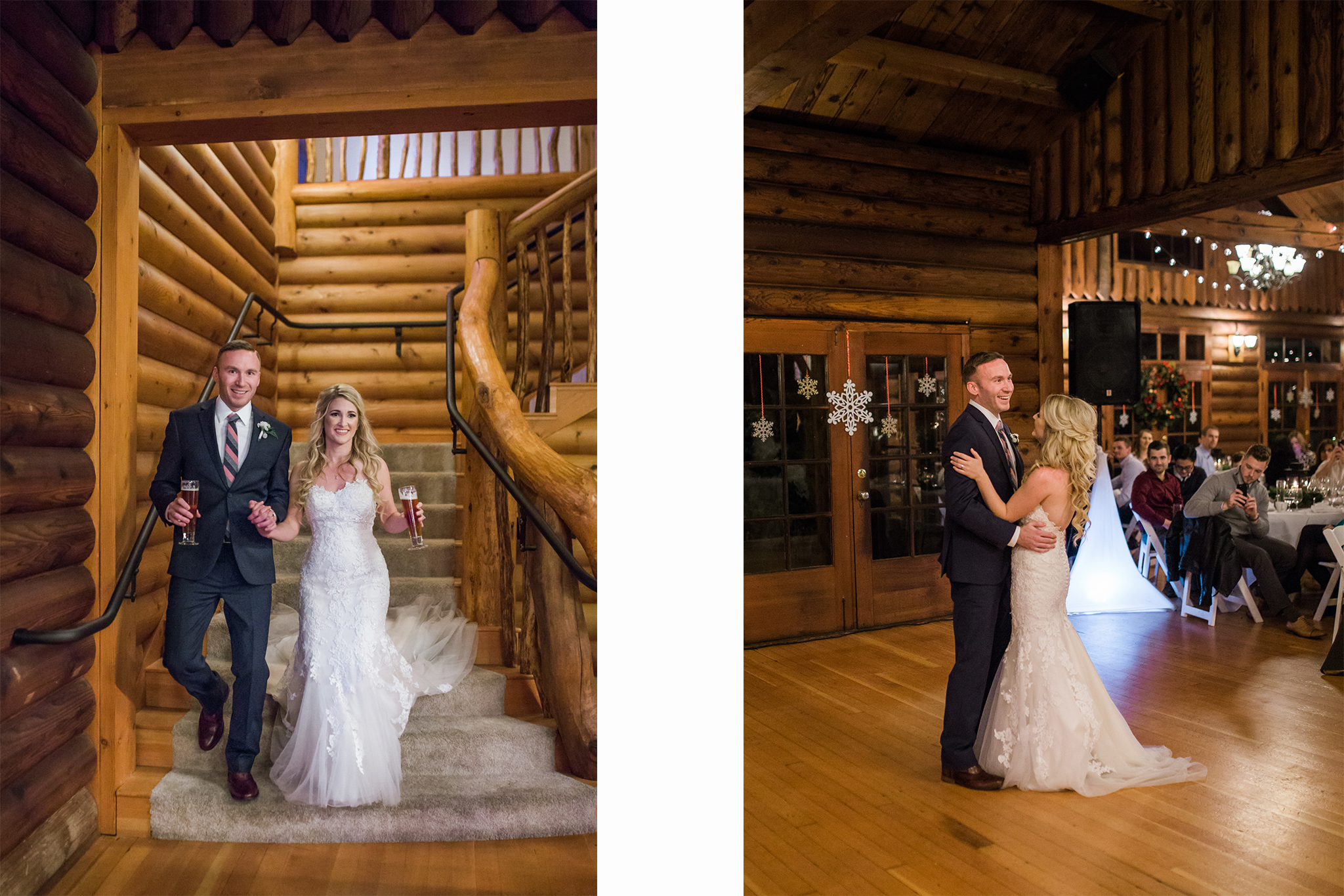 Ridgefield, WA wedding photographer, summit grove lodge weddings, first dance as husband and wife