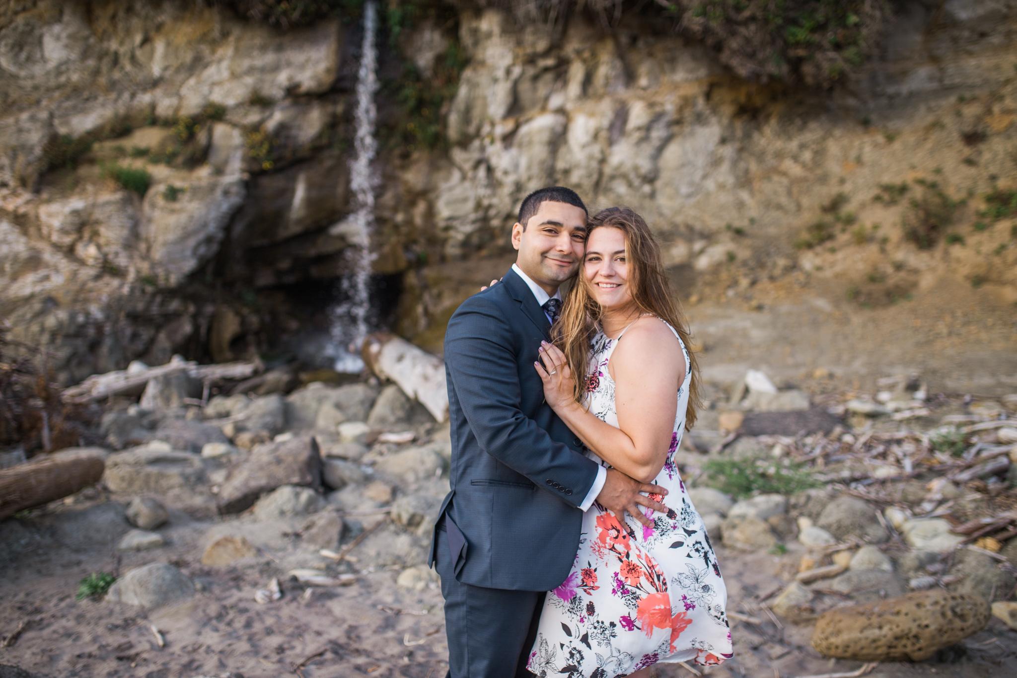 Oregon coast photographer, engagement session