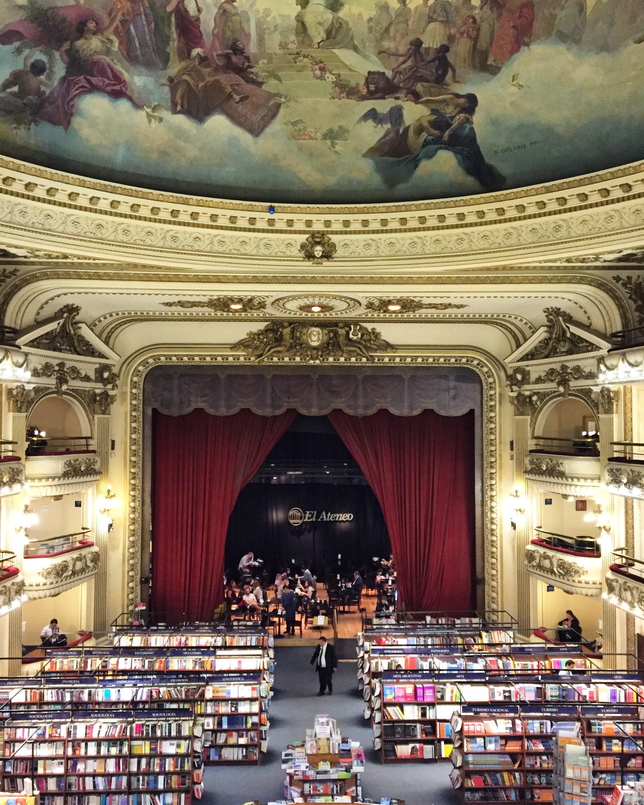 The World's Most Beautiful Bookstores (Town & Country)   From an opulent bookshop in a repurposed theater to a charmingly weathered store on a canal, these gorgeous shops are worth a visit.