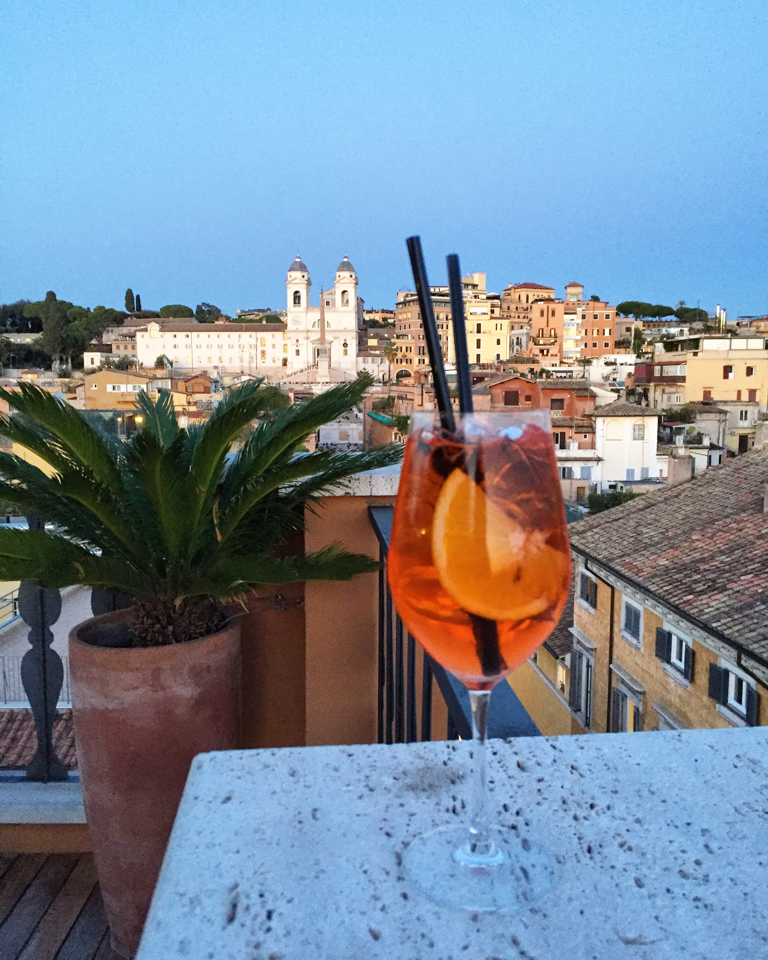 Drinking the Aperol Spritz—and Italian Amari—Beyond Summer (Vogue)   When I lived in Rome six years ago, I grew to love the bittersweet flavor of an Aperol Spritz.