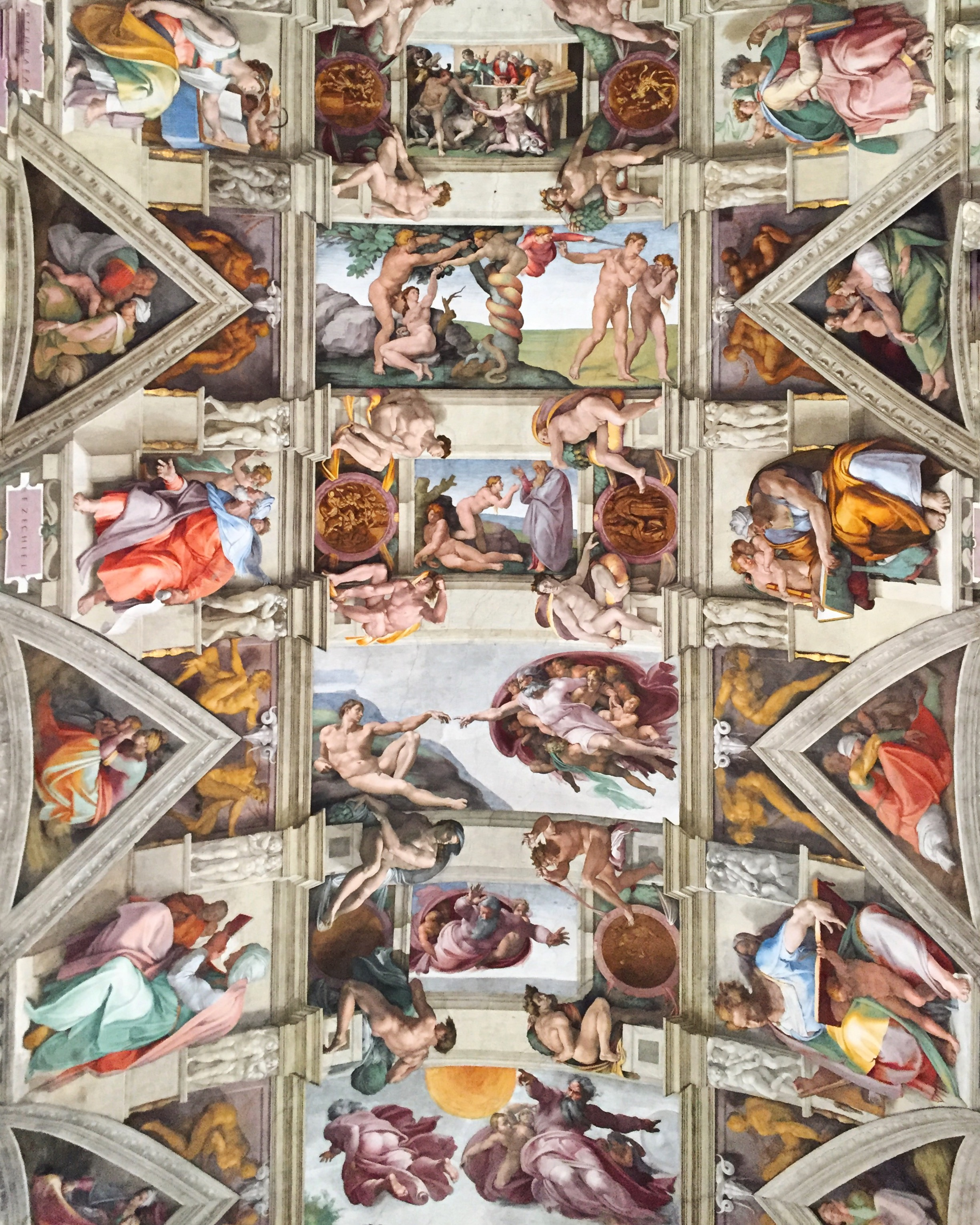 Osram Gives the Vatican New Life with LED Lighting Overhaul (Architectural Digest)   The project to relight the Sistine Chapel, the Raphael Rooms, St. Peter's Basilica, and the Sala Regia has taken eight years to complete