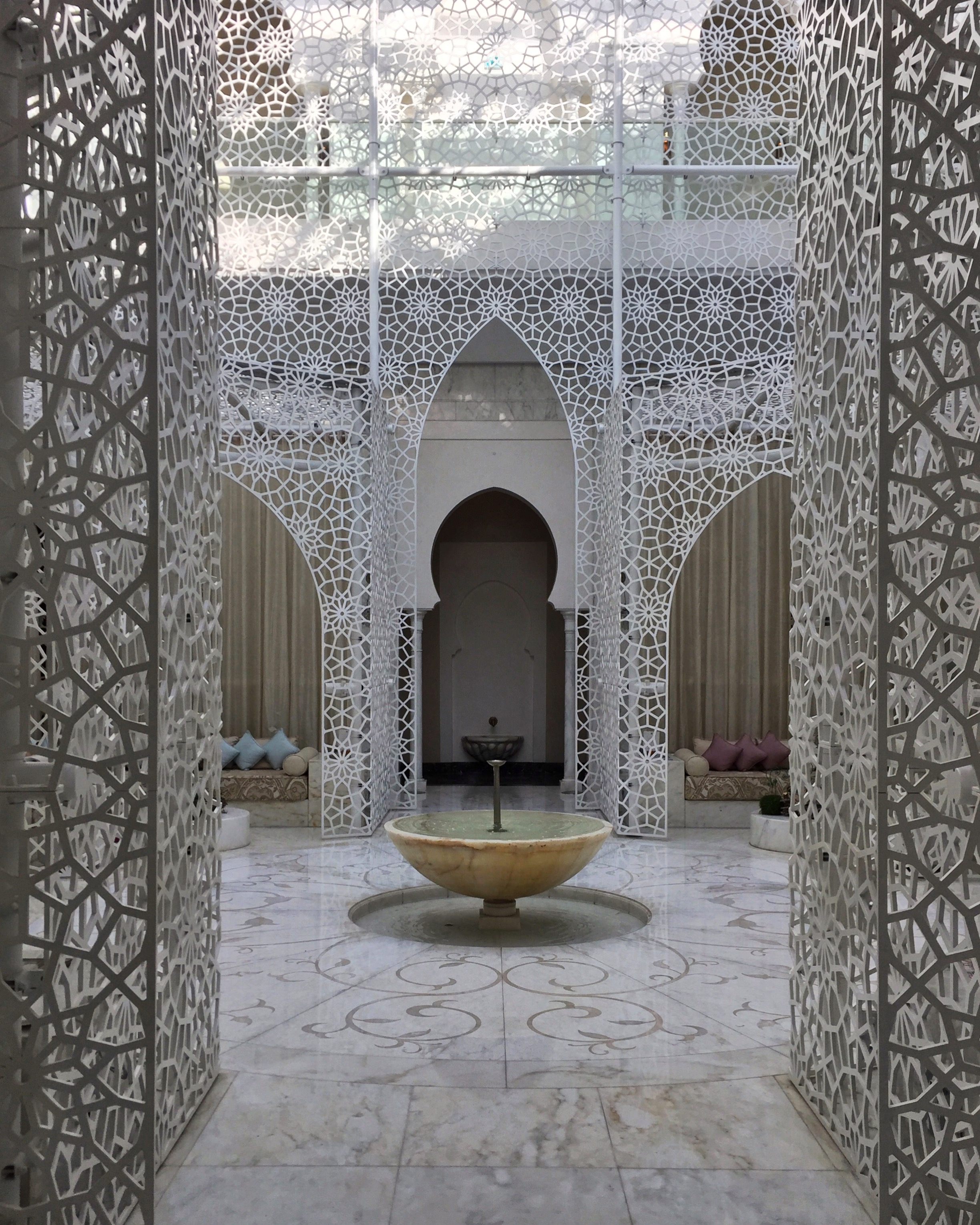 What It's Really Like to Bare All for a Moroccan Hammam Treatment (Domino)   Honestly, very luxurious.