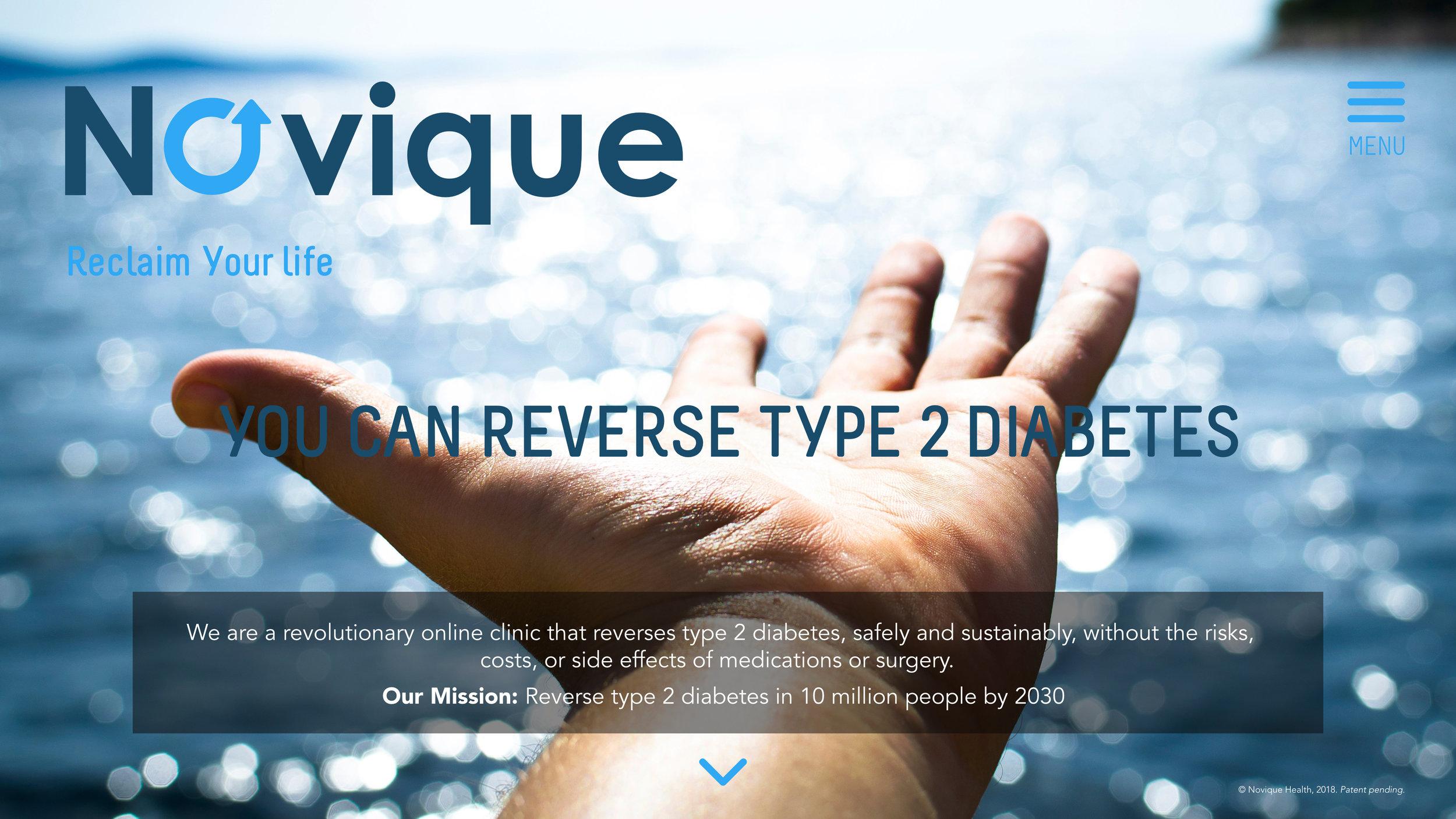 Novique Diabetes Reversal