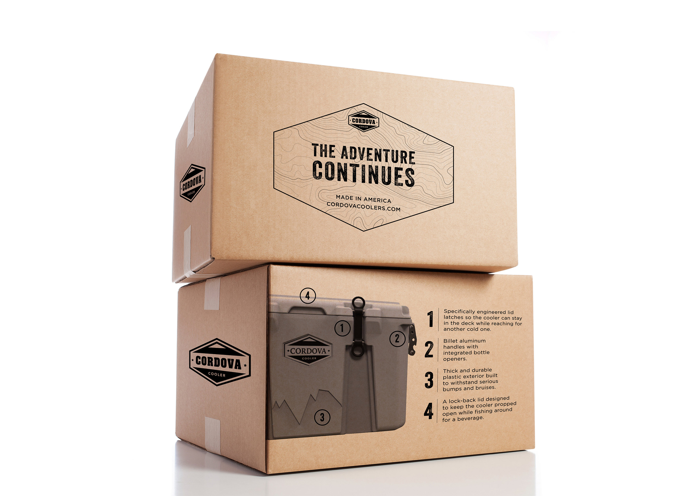 Packaging box design by Sonora Leigh Creative Studio