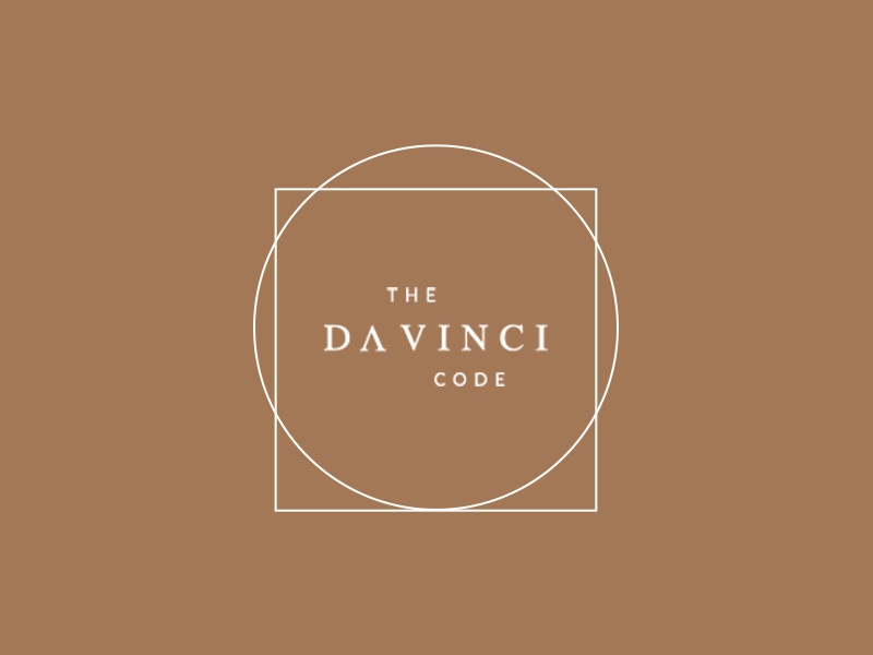 The Da Vinci code 100 days project marketing collateral