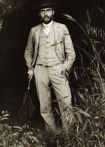Karl Blossfeldt, 1895. Believed to be a self portrait.