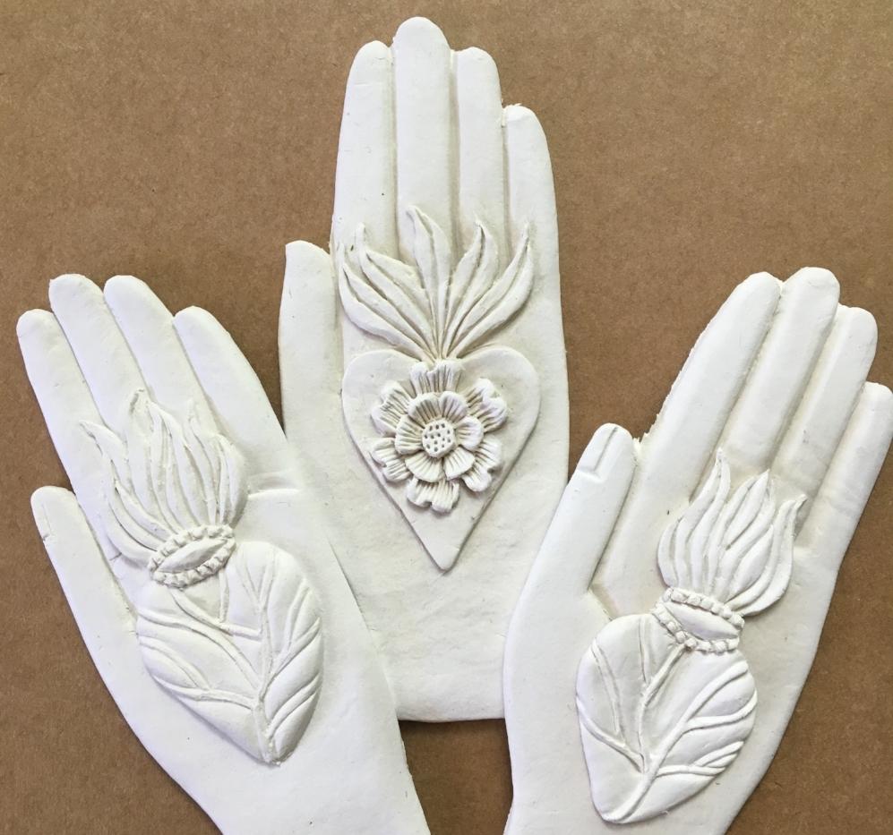 heartfelt hands, unpainted