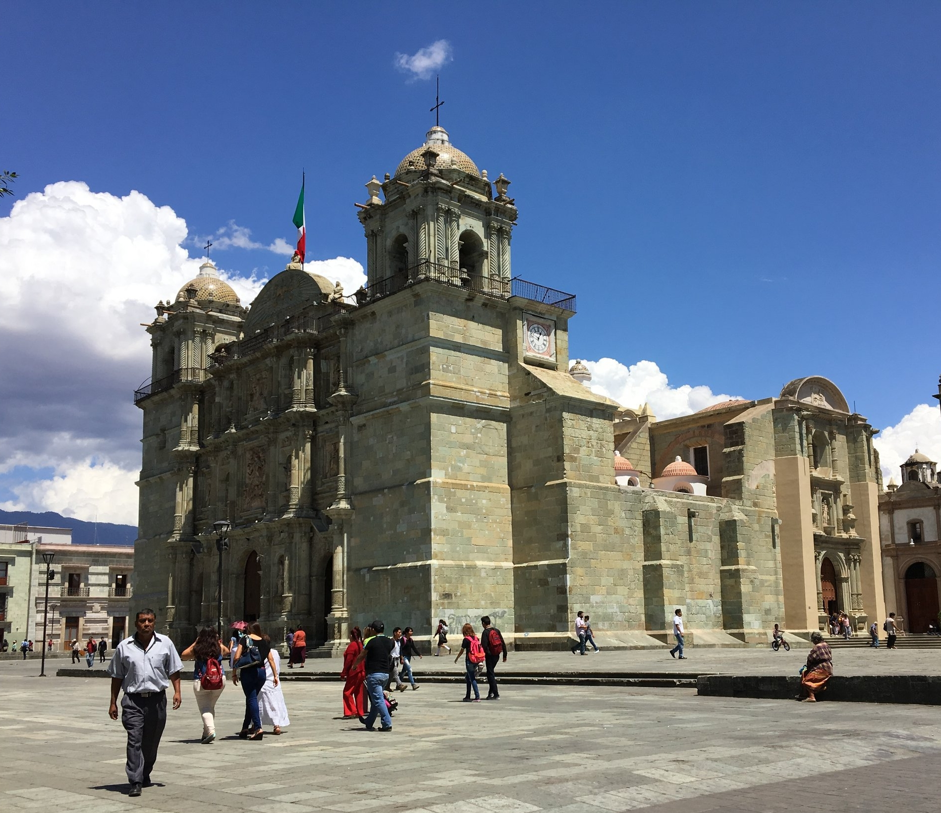 Templo de Santo Domingo. Easily the most beautiful church in Oaxaca. Next to the Cultural Museum and the Botanical Gardens.